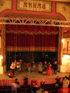 teatre aranu liberado para la cultura libre
