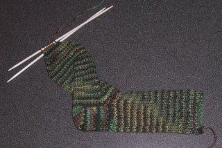 Alex's Camo Sock