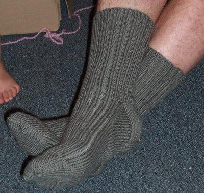 Derek's socks