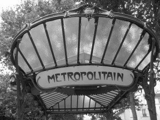 riding on the metro-o-o