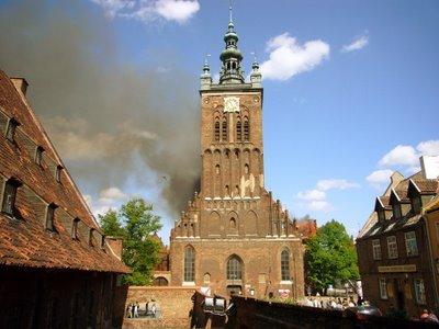 pożar katarzyny gdańsk