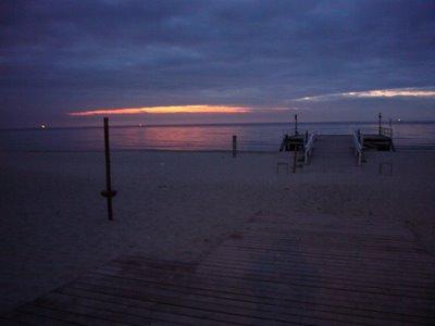 wschód słońca sopot