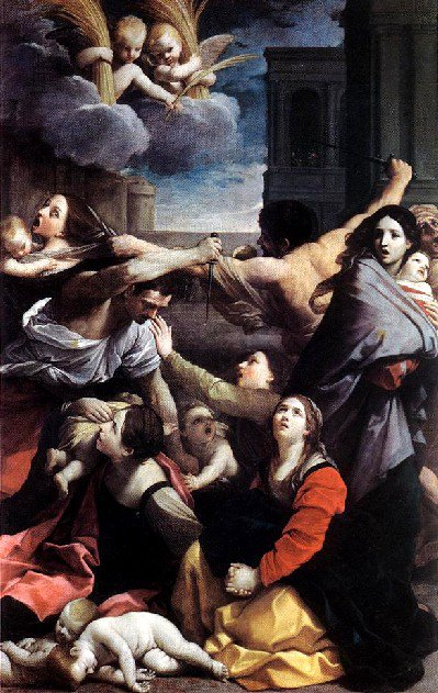 Massacre of the Innocents by Guido Reni (1611), Pinacoteca Nazionale, Bologna