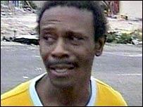 Hardy Jackson - whose home was destroyed and wife killed by Hurricane Katrina