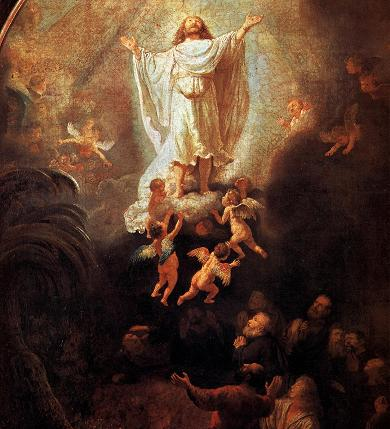 Ascension - Rembrandt - Alte Pinakothek, Monaco