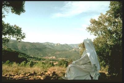 Carthusian Nun - Cartuja Santa María de BENIFAÇÀ - Spain