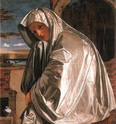 'Saint Mary Magdalene approaching the Sepulchre' by Gian Girolamo Savoldo