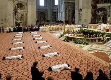Ordination Mass - St. Peter's Basilica - May 7, 2006