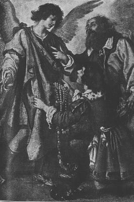 Raphael's Departure - by Giovanni Belivarte