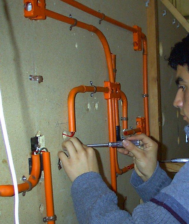 Las instalaciones de las viviendas la instalaci n - Instalacion electrica vista ...