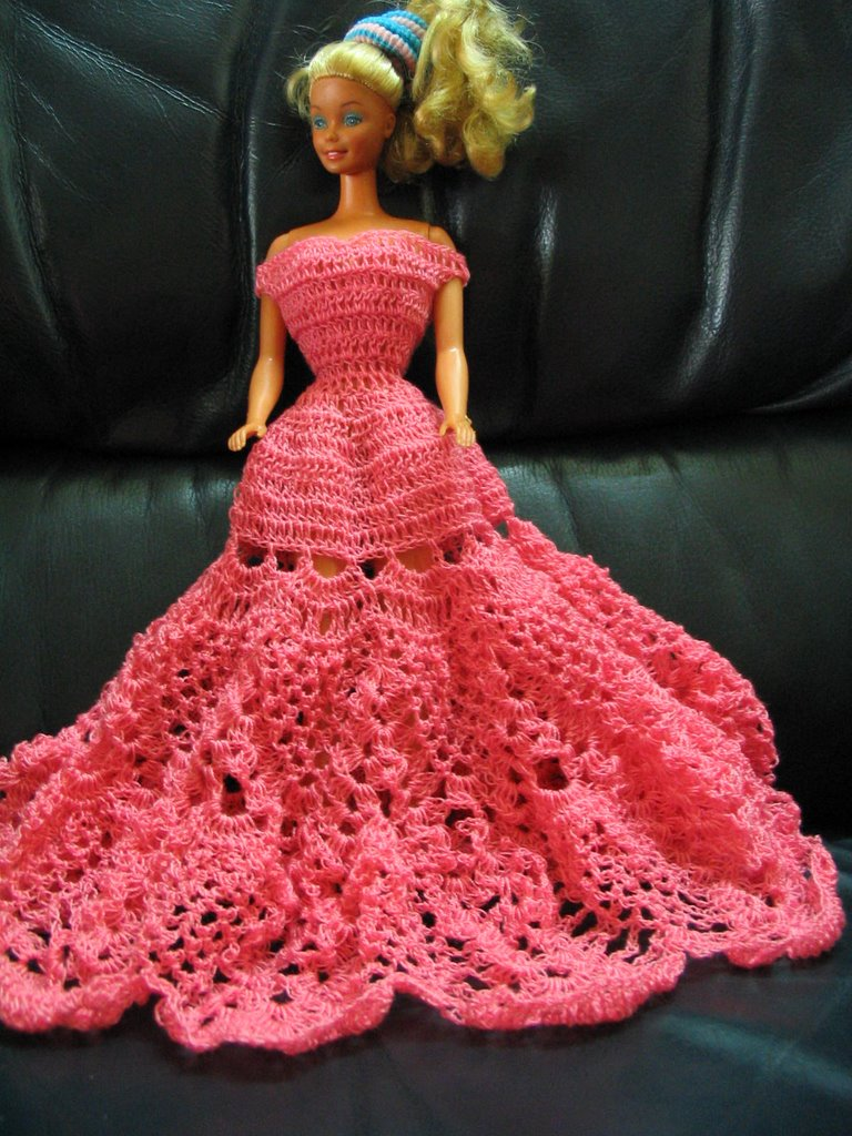 Crochet Barbie Doll Clothes Patterns Topsimages
