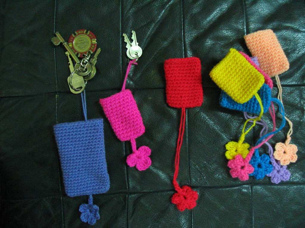 Cyn\'s Crochet & Knitting Corner: Key Cozy , Scissors Cozy and ...