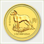 Lunar Gold Dog