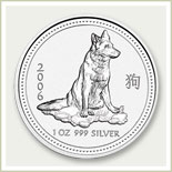 Lunar Silver Dog