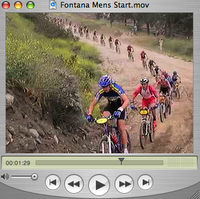 Pro Men Mountain Bike Race