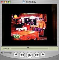 Tom on TV