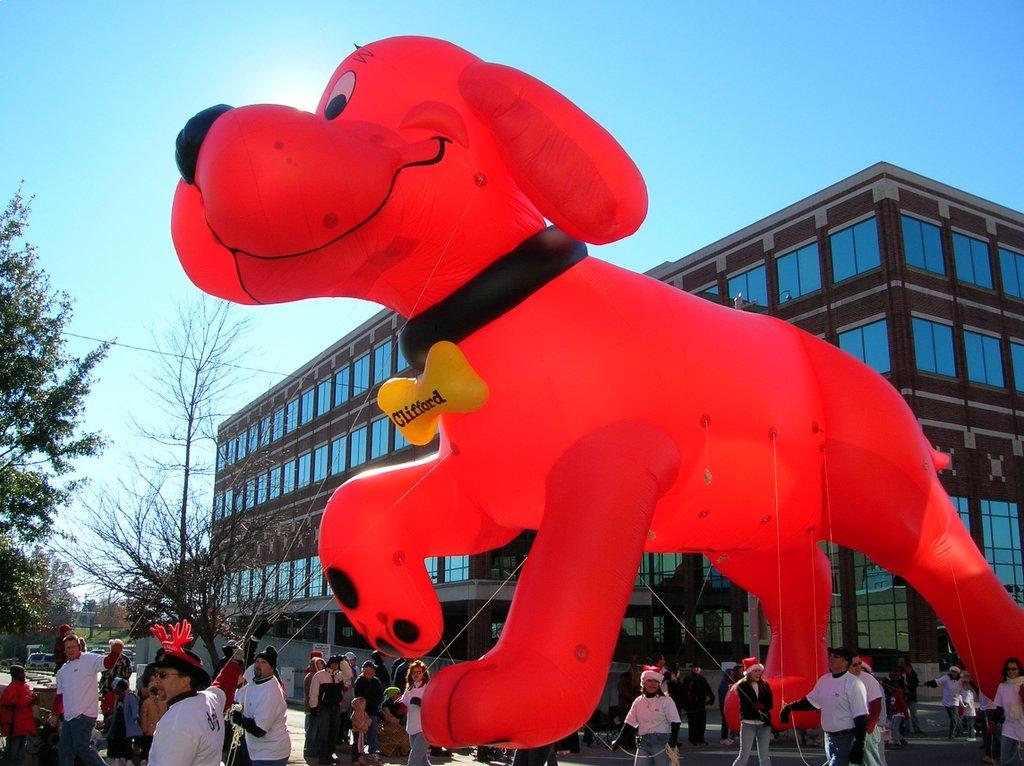 Greater Greensboro Open Blog: 2005 Greensboro Jaycee Holiday Parade