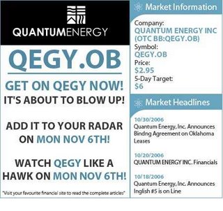 Quantum Energy, 0il and gas exploration company