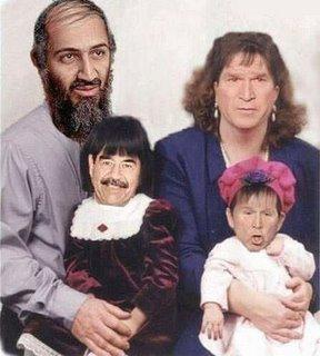 Bin laden con su familia