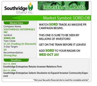 southridge-ethanol-inc