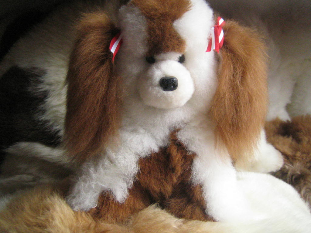 Roman 205 Handicrafts Perro Sentadito Good Boy Dog Sitting