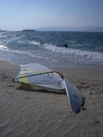 Praia de Aguieira, windsurf