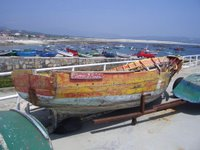 Corrubedo, barco