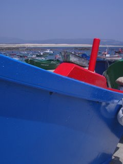 Corrubedo, barca