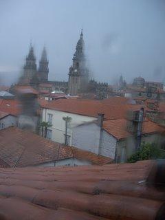 Santiago de Compostela, chuvia, lluvia, rain