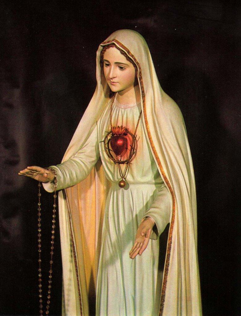 Resultado de imagem para imaculado coração de maria