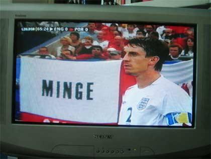 Gary Neville - Minge flag