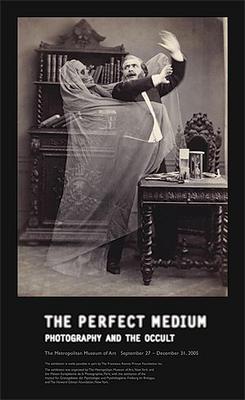 Eugène Thiébault: Henri Robin and a Specter, 1863