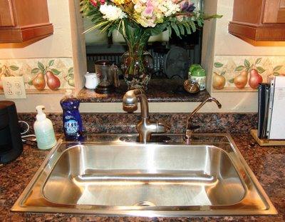 My new sink...