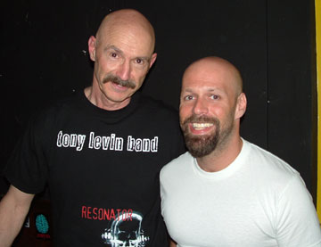 Will the real Tony Levin please stand up...