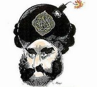 Cartoon of Mohammed that enraged Muslims