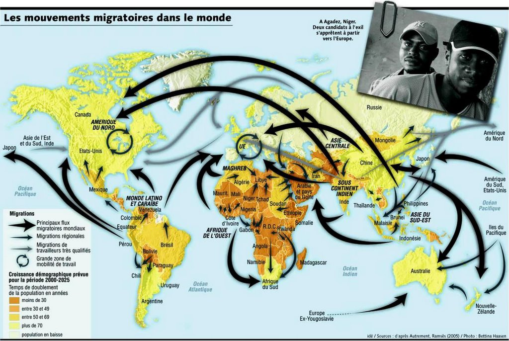 Migrations internationales histoire g ographie terminale s es l - Office de migration internationale ...