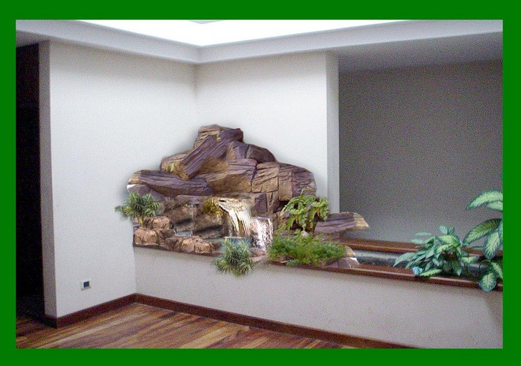 Fuentes y cascadas for Cascadas artificiales para jardin