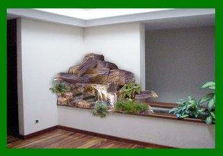 Fuentes y cascadas for Cascadas artificiales de pared