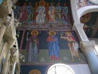 Inside the church at Meskla