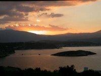 Sunset from Villa Kalithea