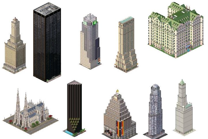 Custom Buildings Simcity