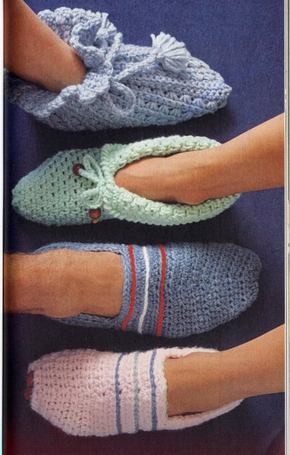 Knitting Patterns Free Vintage : Free Vintage Knit and Crochet Patterns