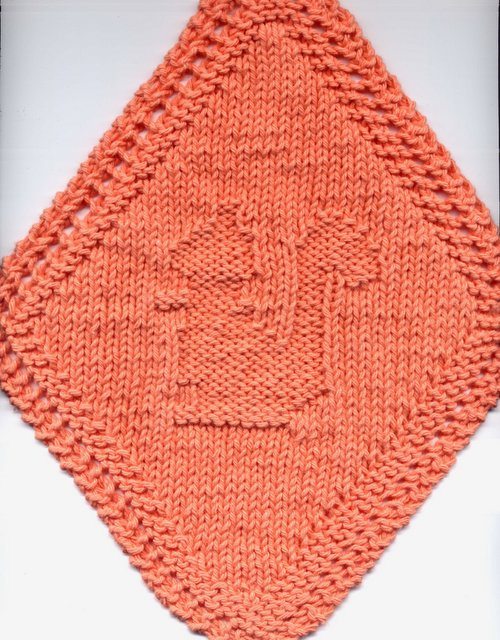 Dishcloth Pattern Corner And Some Scrubbies Too Diagonal Squirrel