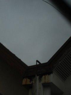 rainy skies
