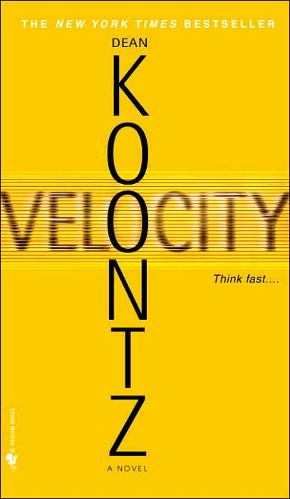 a literary analysis of velocity by dean koontz