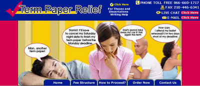 paper relief term