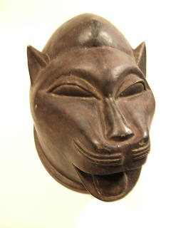 Kenyan jaguar mask