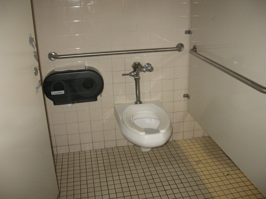 I Would Never Park In A Handicapped Parking Spot But I Use Handicapped Stalls In A Restroom