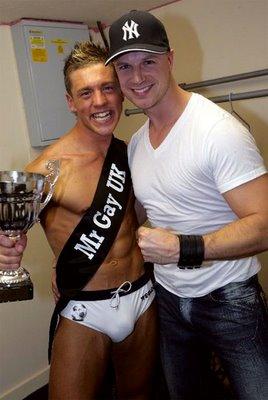 Police Constable Mark Carter Mr Gay UK