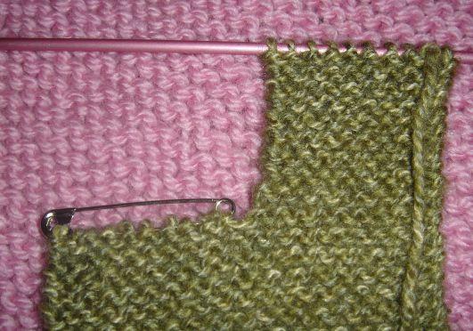 modele tricot echarpe avec fente